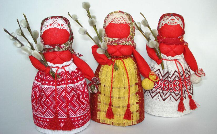 Кукла к Пасхе